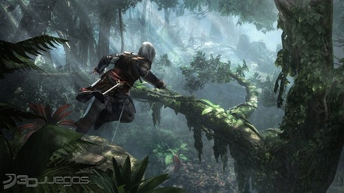 Assassin's Creed wallpaper probably containing an alpinist and a skin diver called Assassin's Creed IV Black Flag