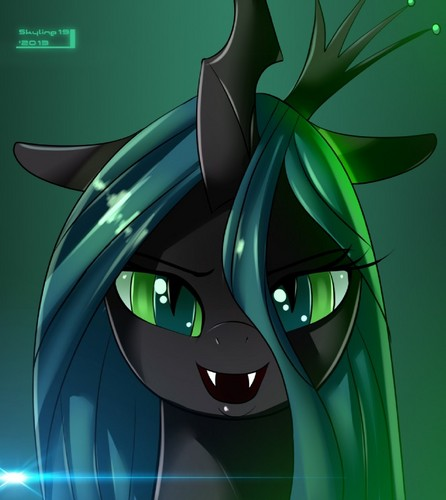 MLP FIM Queen Chrysalis fond d'écran called Awesome Chrysalis pics