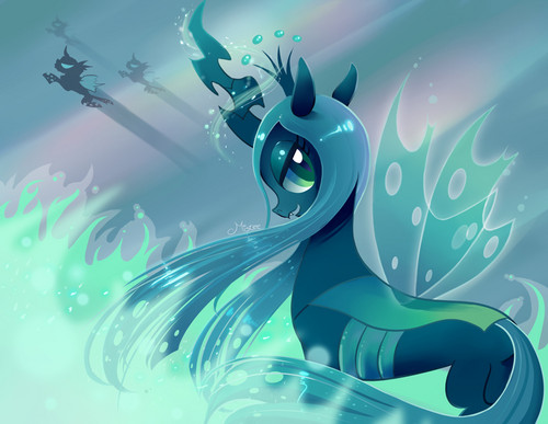 MLP FIM Queen Chrysalis fond d'écran titled Awesome Chrysalis pics
