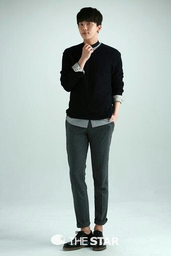 B.A.P's Youngjae  Poses for The Star Korea