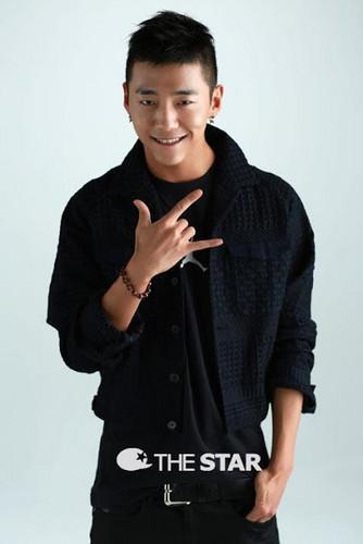 B.A.P's leader Bang Yong Guk Poses for The estrella Korea