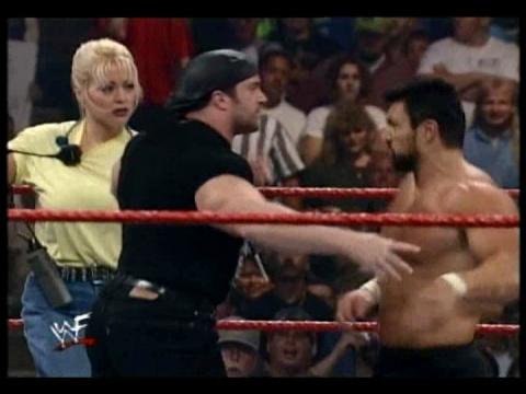 Former WWE Diva & Miss TNA... Kathy Dingman achtergrond titled BB - Unforgiven 1999