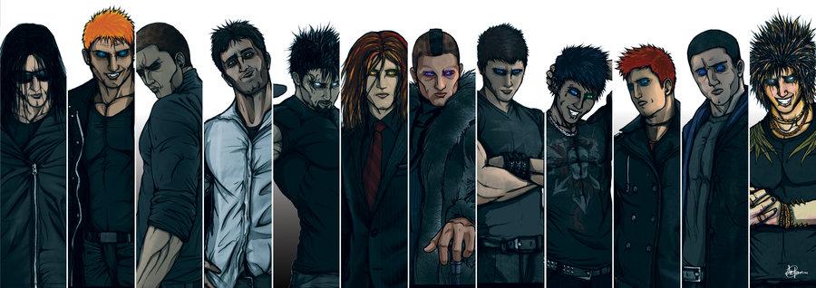 Black Dagger Brotherhood Men