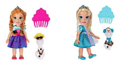 फ्रोज़न Baby Anna and Elsa गुड़िया