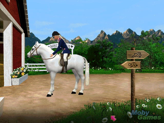 बार्बी Adventure: Riding Club