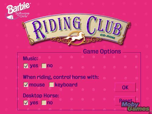 Barbie Adventure: Riding Club