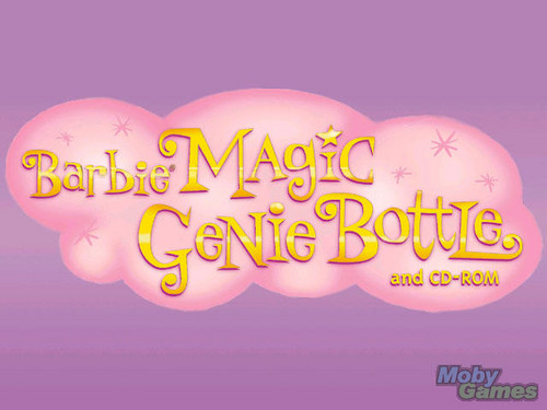 बार्बी Magic Genie Bottle
