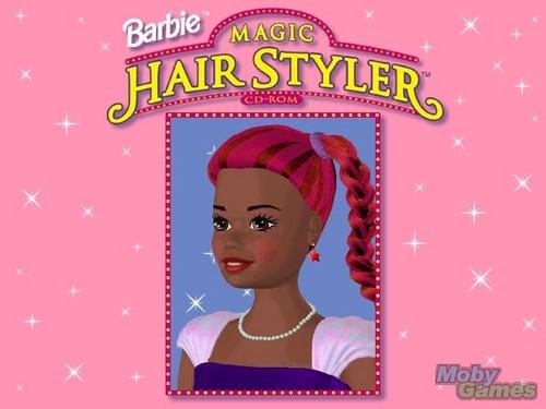 バービー Magic Hair Styler