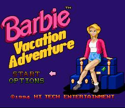 बार्बी Vacation Adventure