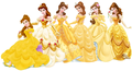 Belle Dress Evolution