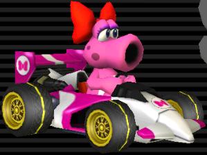 Birdo Mario Kart Wii
