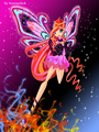 Bloom Pink Enchantix ♥ - the-winx-club fan art
