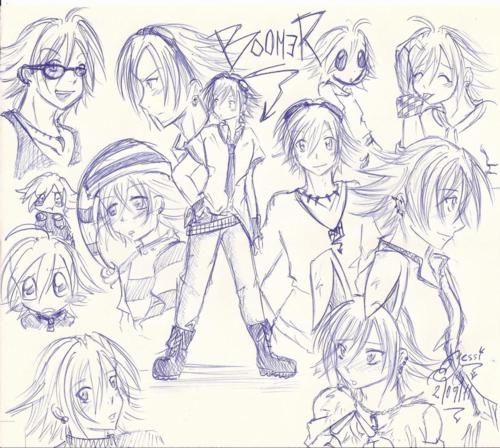 Boomer sketch