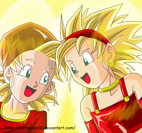 Bra and Pan Ssj