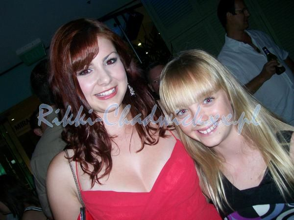 Brittany and Cleo at the H2o : Just Add Water Premiere Party