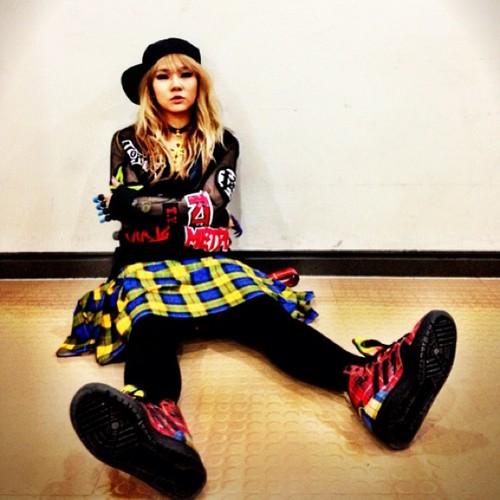 CL's Instagram fotografias