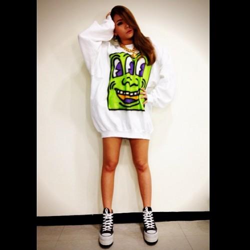 CL's Instagram fotos