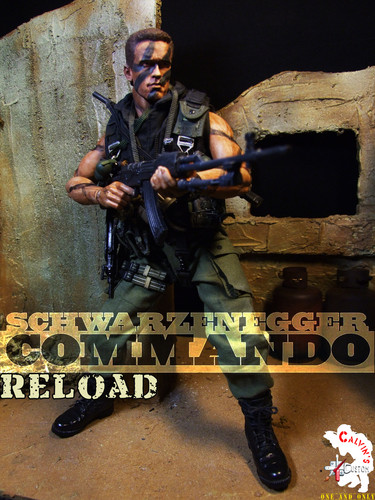 Calvin's Custom One Sixth COMMANDO figure