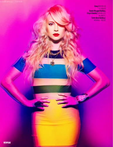 Candice Accola in The High Voltage Issue of Nouveau Magazine