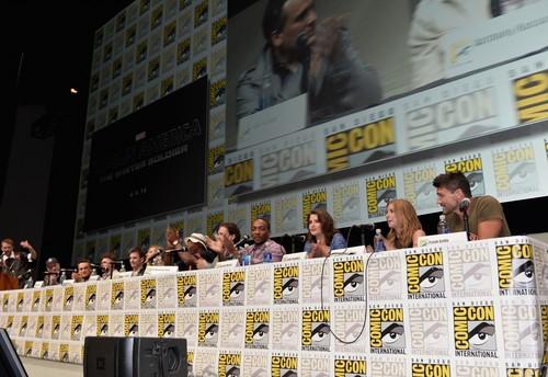 Captain America Panel @ Comic Con 2013