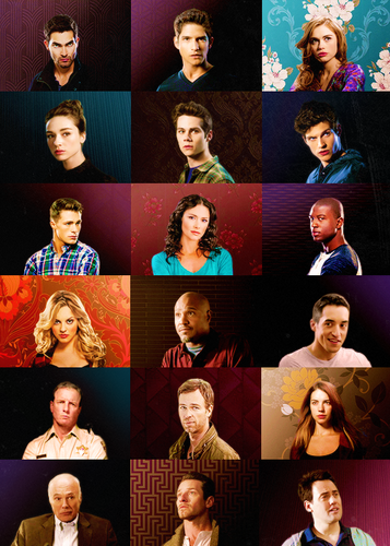 Cast ABC's ➵ T is for Teen lupo