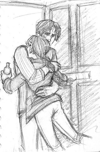 Catching Fire: Gale and Katniss