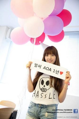 Chanmi~ 1st Anniversary party!