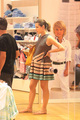شارلٹ Casiraghi seen shopping for baby clothes