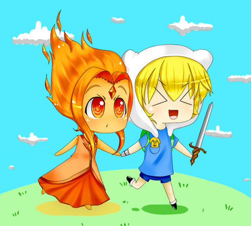 Chibi Finn & FP: Adventure Time!