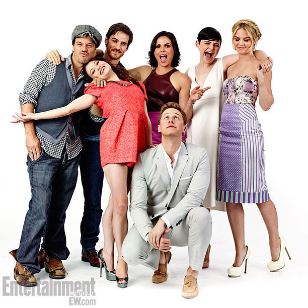 Colin O'Donoghue & OUAT Cast at Comic Con