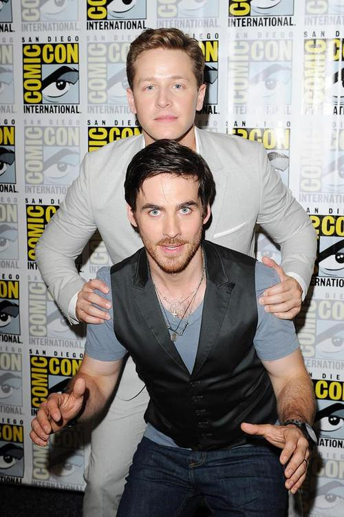 Colin O'Donoghue and Josh Dallas at Comic Con