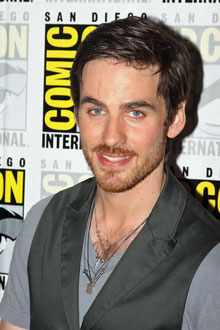 Colin O'Donoghue wallpaper with animê titled Colin O'Donoghue at Comic Con 2013