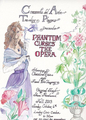Commedia Del Arte presentes Phantom curses the Opera Flyer - the-phantom-of-the-opera photo