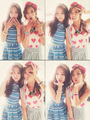 Cute Bomi with Naeun - korea-girls-group-a-pink photo