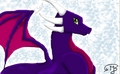 Cynder the dragon oleh Janne Moore/Skrillexia