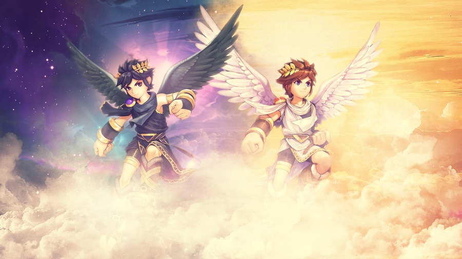 Kid Icarus Images Dark Pit HD Wallpaper And Background Photos