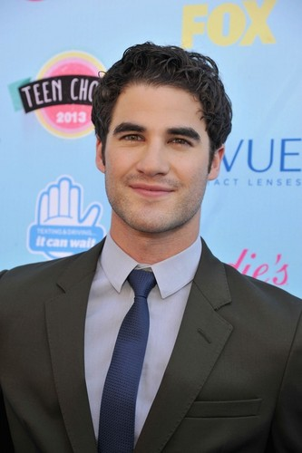 Darren Criss wallpaper with a business suit and a suit entitled Darren TCA 2013