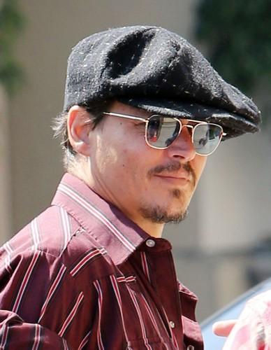 Depp at LA (12 Aug 2013)