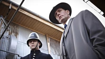 Detective Inspector Robinson & Constable Collins