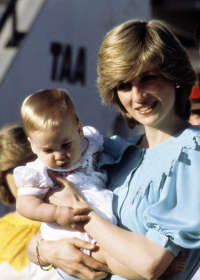 Diana And Prince William