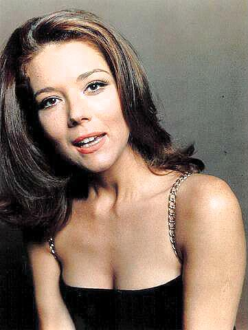 Diana Rigg Hintergrund with attractiveness and a portrait titled Diana Rigg