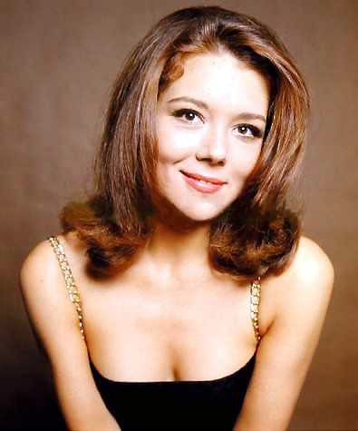 Diana Rigg kertas dinding containing attractiveness and a portrait entitled Diana Rigg