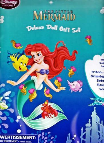Дисней Store - The Little Mermaid: Deluxe Doll Gift Set