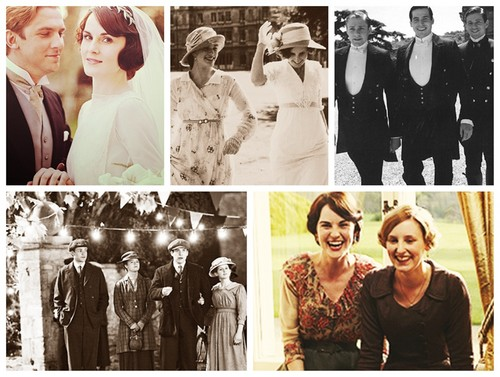 Downton Abbey wolpeyper