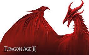 Dragon Age karatasi la kupamba ukuta