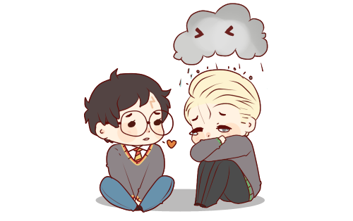 Drarry Chibi: Harry-and-draco Photo