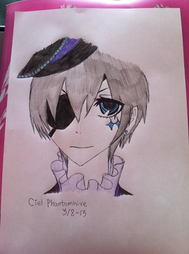 Drawing of Ciel Phantomhive