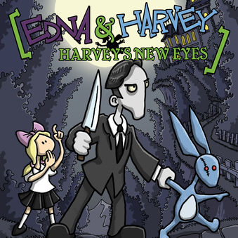 Edna & Harvey: Harveys new eyes Cover