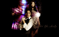 the-vampire-diaries - Elena & Damon wallpaper