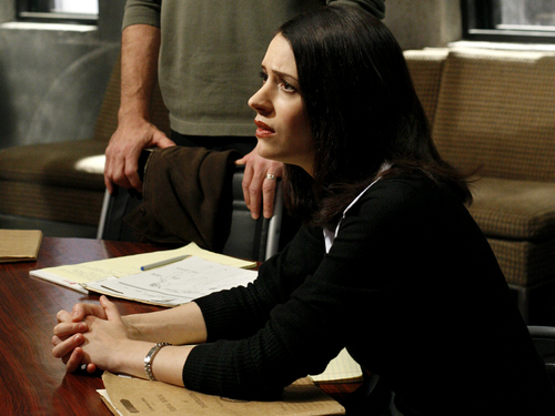 Emily Prentiss 壁纸 with a sign called Emily Prentiss